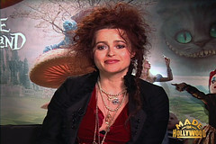 Helena Bonham Carter at Alice In Wonderland Fan Event