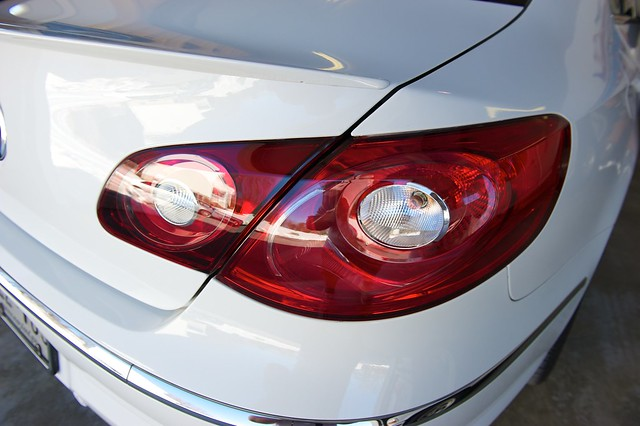 VW Passat CC R-Line Smoked Tail Lights | Flickr - Photo Sharing!