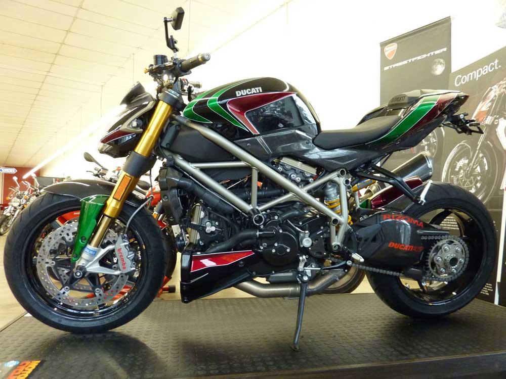 Ducati Streetfighter Custom Paint