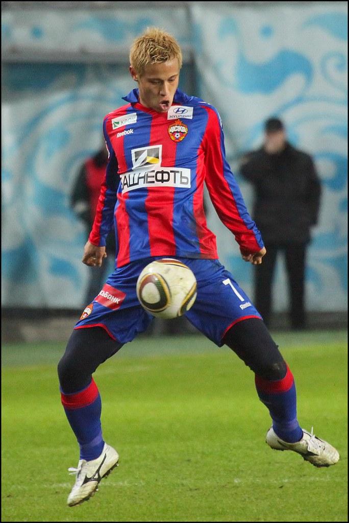 Keisuke Honda #7, CSKA Moscow VS Amkar Perm