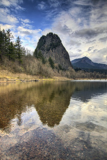 Beacon Rock State Park - Washington - HDR