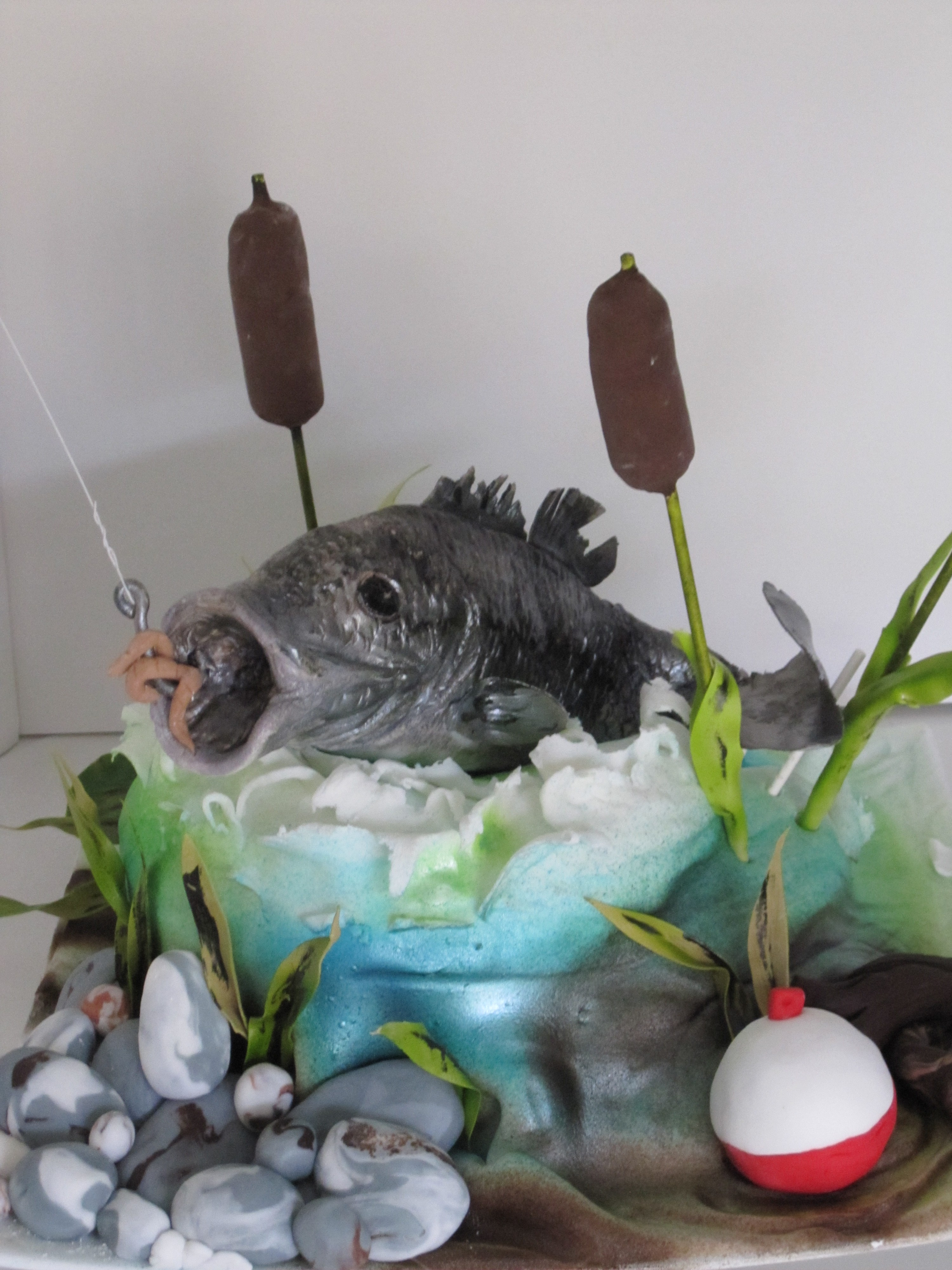 Fish Scales Cake