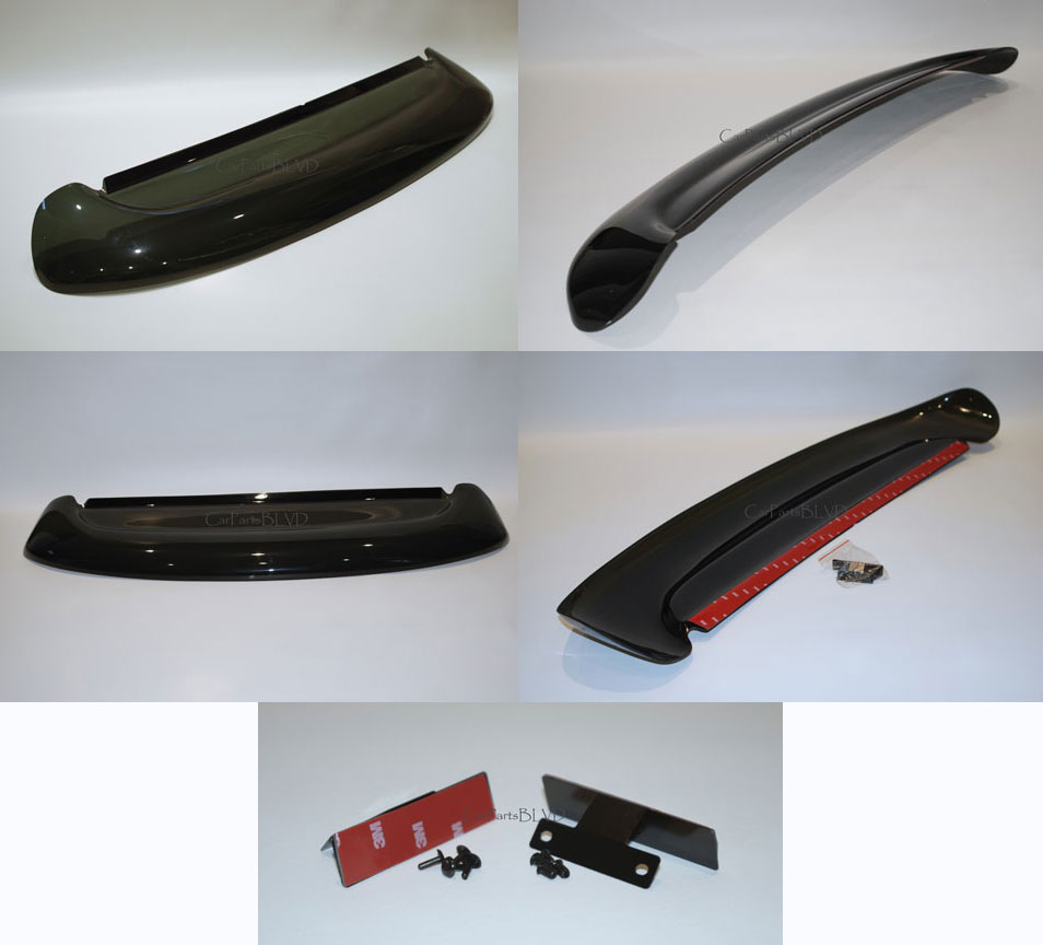 Jdm 02 03 04 05 06 acura rsx dc5 rear roof window visor for 05 acura tl rear window visor