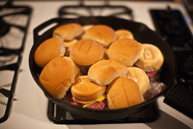 52 Recipes Week 13 - Ultimate Sliders | Buns go on top of t ...