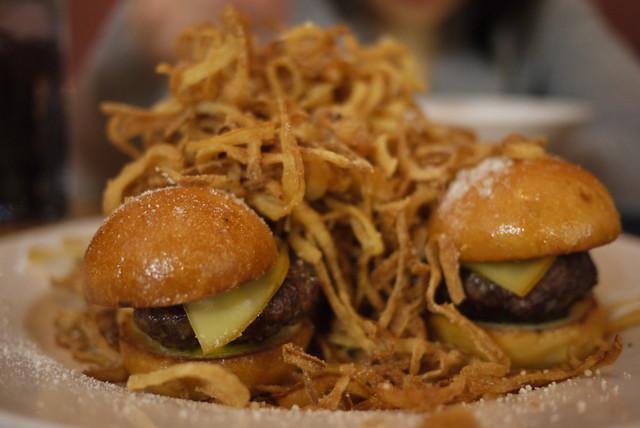 Mini Burgers at Matchbox