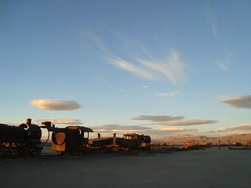 Bolivia, Uyuni, Train Cemetary