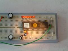Light sensitive Microcontroller Chip