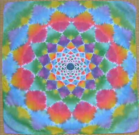 one more mandala hanky, Fujifilm FinePix Z3