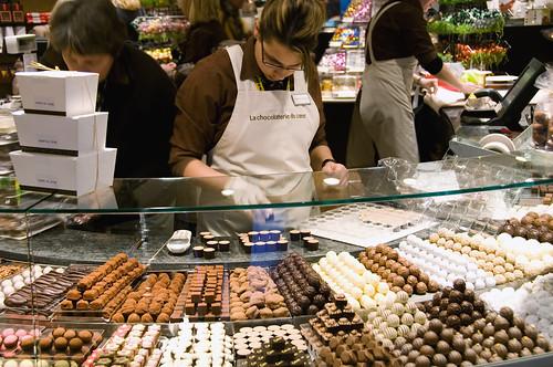 Confiseur Läderach Zurich Switzerland