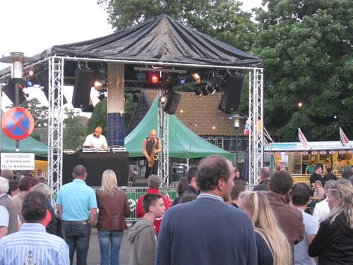 AmBitioUs DJ Jean-Paul & Sax Remko @ Openbaar optreden Renesse