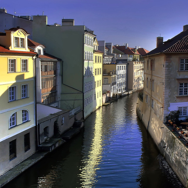 Prague on the canal