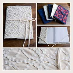 Hand made notebook covers