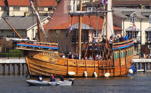 The Matthews, le bateau de Cabot ayant redécouvert l'Amérique du nord