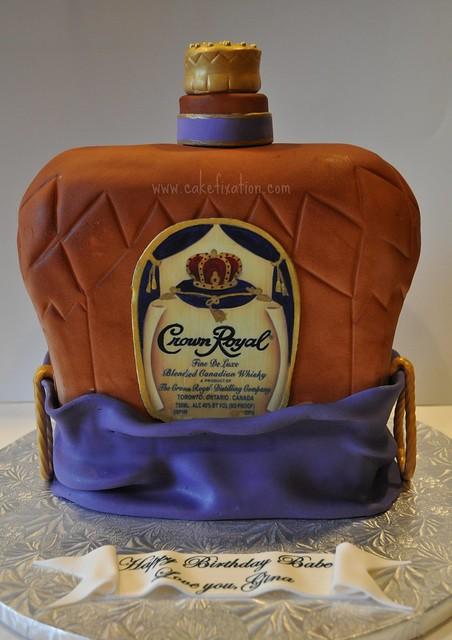 Cake With Crown Royal : Crown Royal Cake Flickr - Photo Sharing!