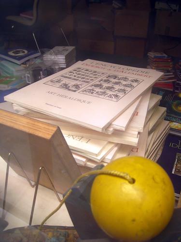 L'Encyclopédie (avec la participation incongrue d'un bilboquet jaune en premier blanc)