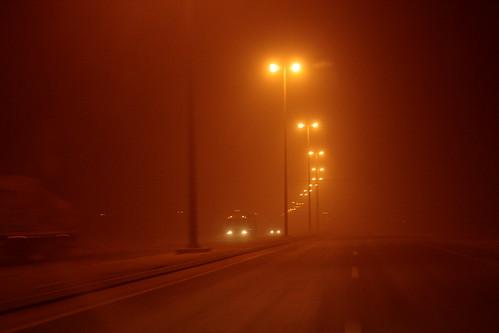 sandstorm riyadh ksa saudiarabia scarynight dust sand thursday 2242010 851431 travel cars cantseeanything عاصفةرملية الخميس سبحان الله rainy night الرياض المملكةالعربيةالسعودية