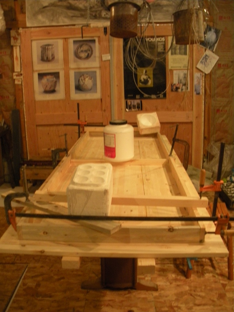 Dining room table progressing