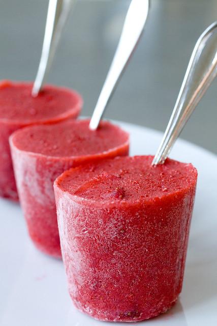 Very Berry Strawberry Ice Pops 7 | Explore FoodMayhem.com's ...