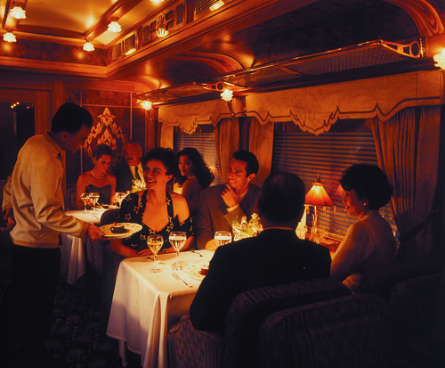 Eastern & Oriental Express - Restaurant Car