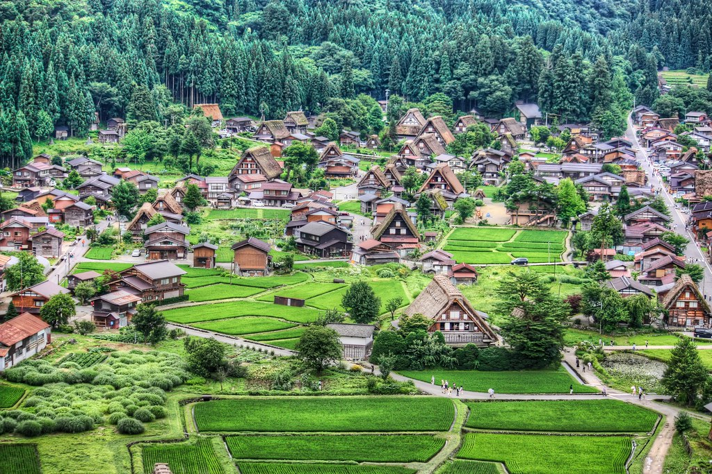 Farmhouses of Shirakawa-go