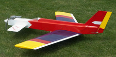 model aircraft(1.0), monoplane(1.0), aviation(1.0), airplane(1.0), propeller driven aircraft(1.0), wing(1.0), vehicle(1.0), light aircraft(1.0), glider(1.0), radio-controlled aircraft(1.0), radio-controlled toy(1.0), toy(1.0),