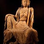 Wooden Bodhisattva