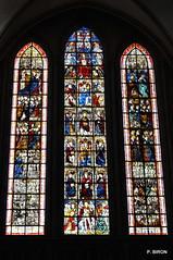 Le Jugement dernier - Vitraux du transept sud de la Cathédrale de Coutances - Manche - Basse Normandie