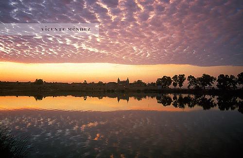 africa niger río sunrise river amanecer mali mopti