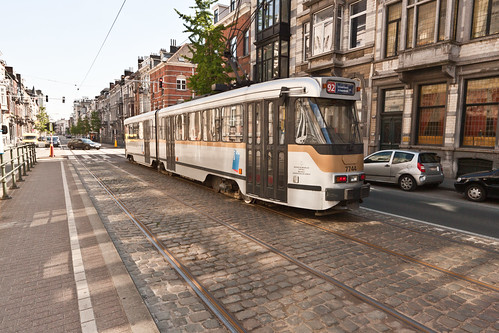 No. 92 Tram - Brussels by infomatique