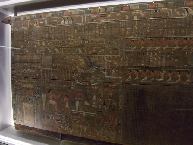 a sarcophagus's painted door for the soul