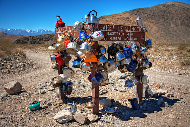 Teakettle Junction – New Sign
