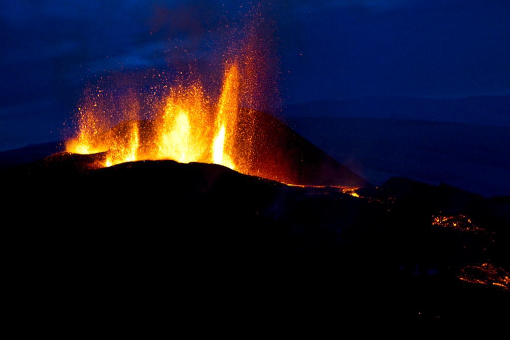 Eyjafjallajoekull Lava Falls