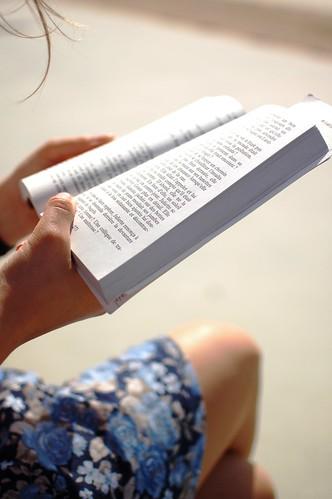 reading under the sun