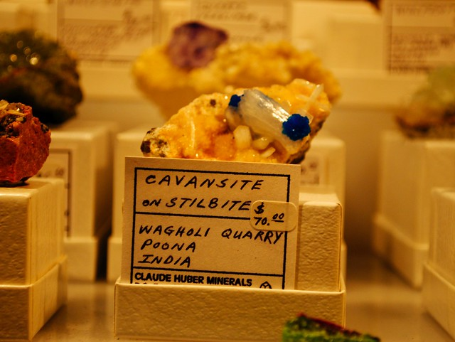 Header of cavansite