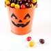 Chocolate Candies in Pumpkin Pail