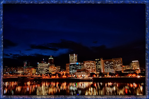 Portland By Night