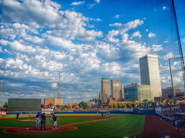 Downtown Tulsa from ONEOK Field-Edit -Studio HDR