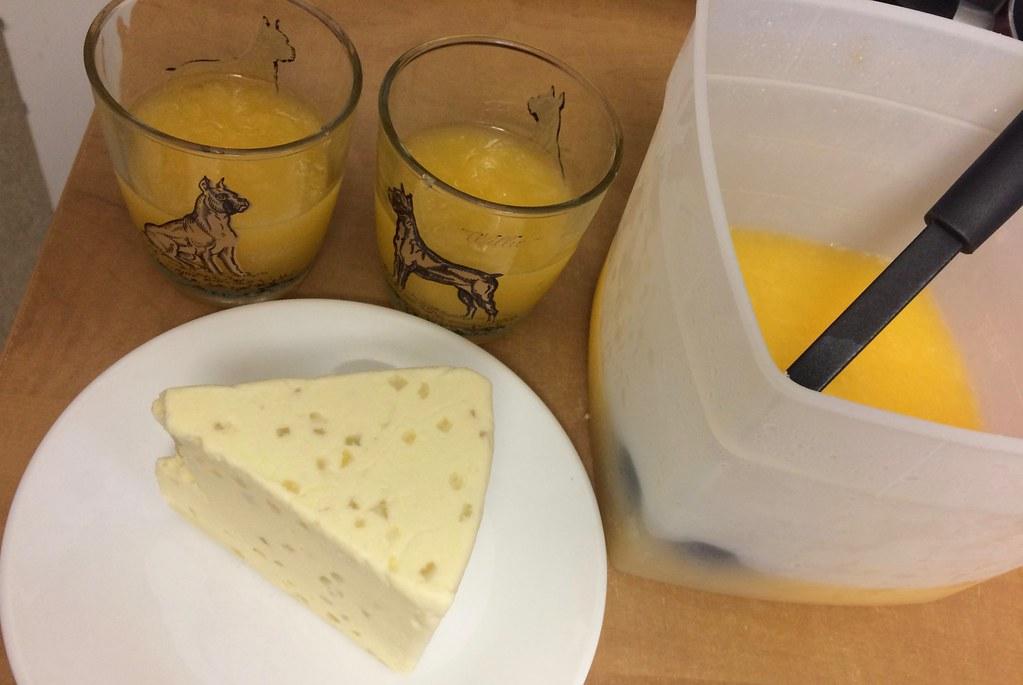 Country Road Cupboard Caribbean Cooler Wine Slushy and Lemon Stilton