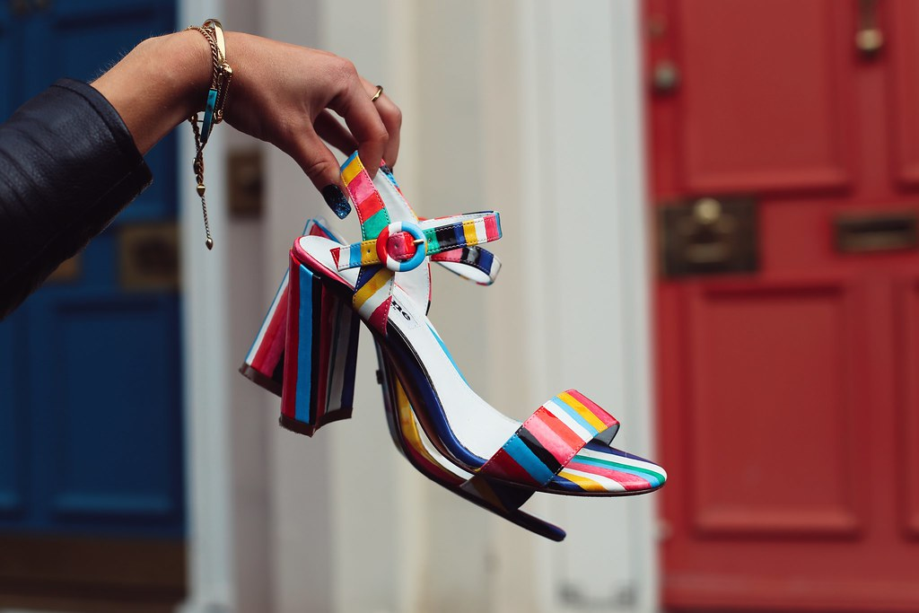 The Little Magpie Dune Rainbow Heels