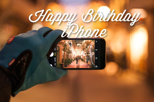 Happy Birthday iPhone - 2017