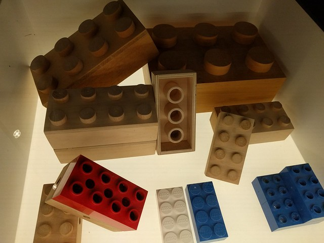 LEGO Bricks from the LEGO House