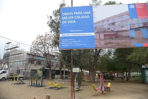 Ministra Saball inaugura plazas con criterios sustentables en Barrio de Lo Prado