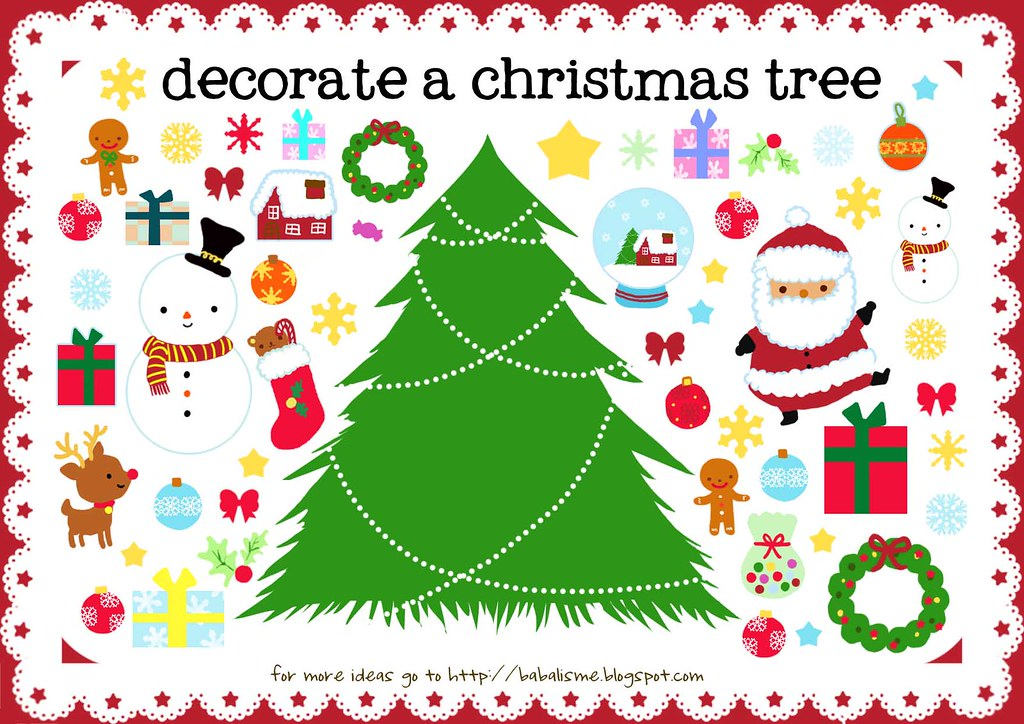 Christmas printables for kids the 36th avenue for Free christmas crafts for kids