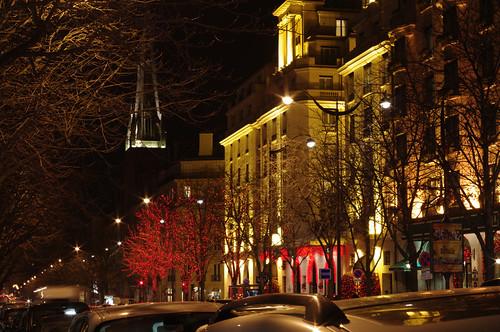 La nuit Avenue Georges V à PARIS (kbg Sylvie_3)