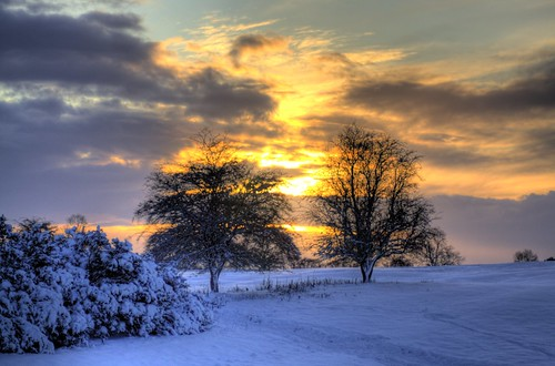 006/365 HDR sunset