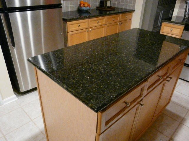 Top Granite : Uba Tuba Granite Countertop installed in Charlotte NC Flickr - Photo ...