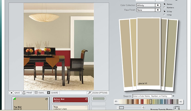Bk59 bedroompaint flickr photo sharing for Benjamin moore tea light