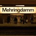 Mehringdamm station by Stewf