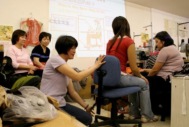 Asian Women Workers In 4