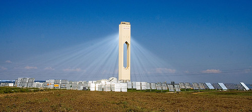 Solucar solar power tower, PS10